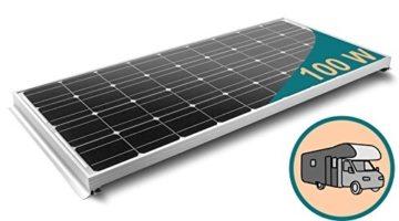 100W Wohnmobil Solar Set