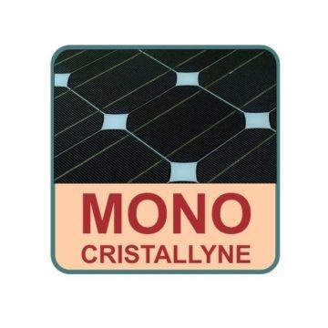 100W Monokristallines Komplett Solarmodul für Wohnmobile mit 10A Laderegler -