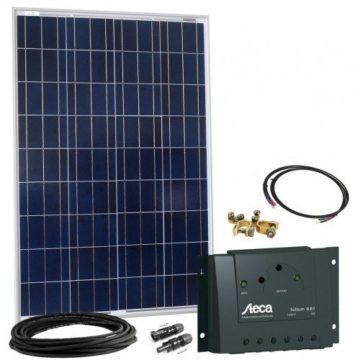Solaranlage für Wohnmobil - 100 wp